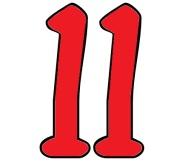 het-getal-11-rood